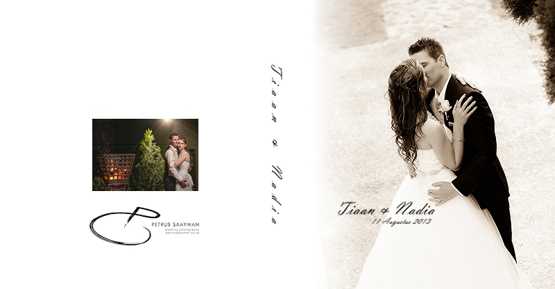 Tiaan & Nadia'S Wedding Album » Petrus Saayman Wedding Photography